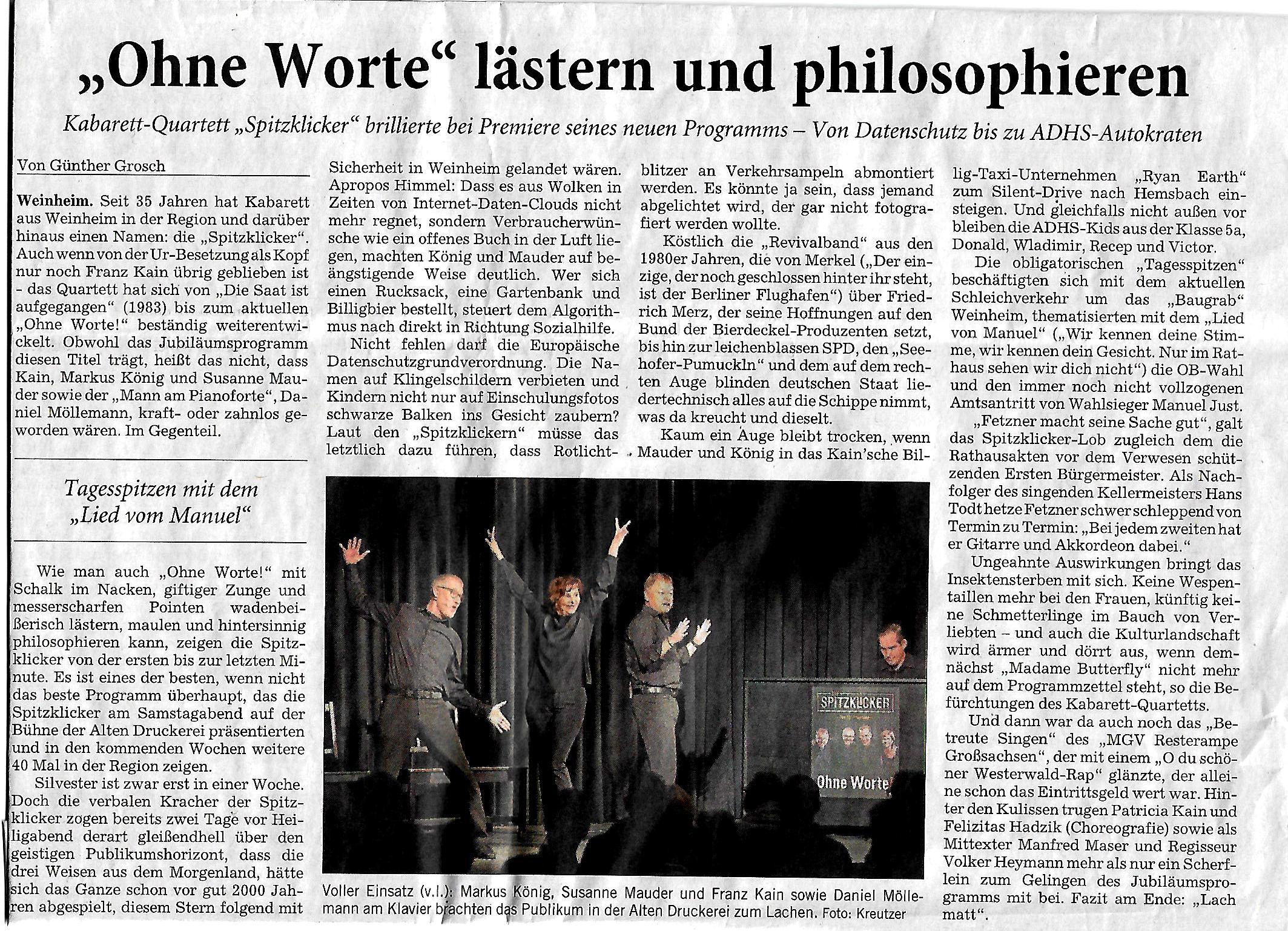 Rhein-Neckar-Zeitung 24.12.18